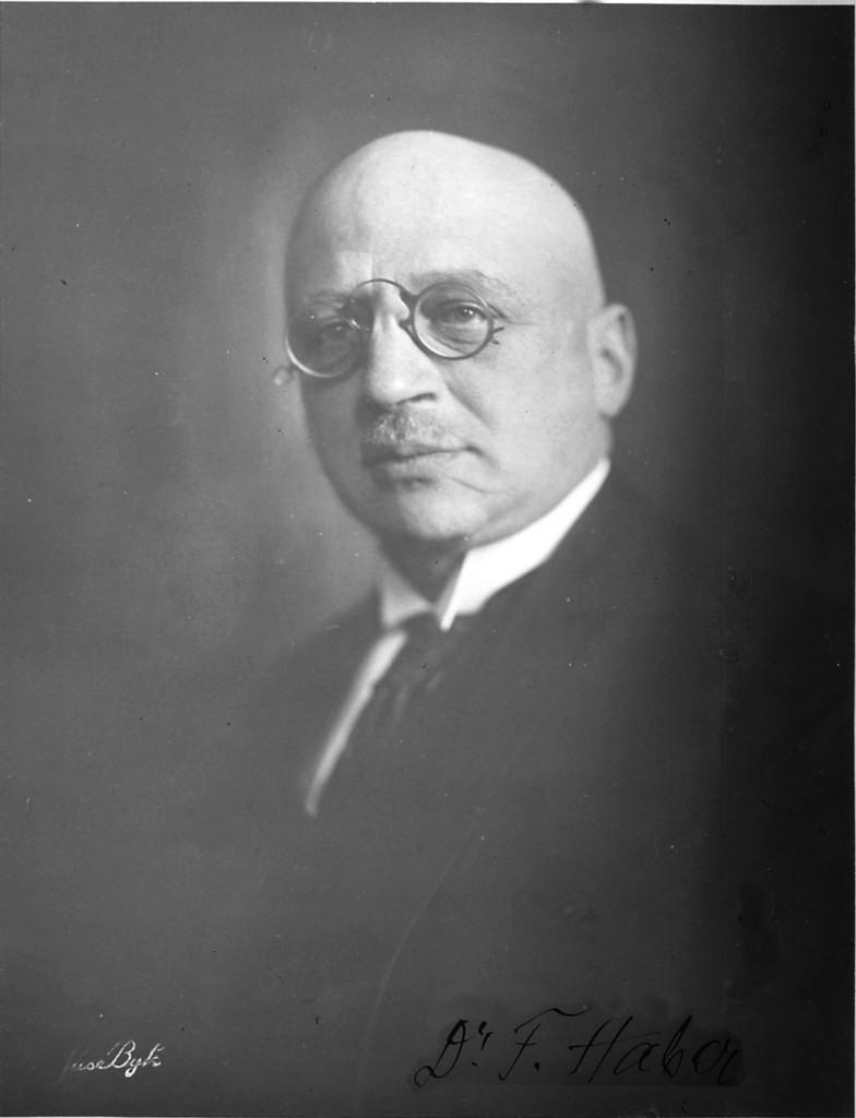 Fritz Haber, 1929 (Quelle: Photographisches Institut der ETH Zürich, CC)